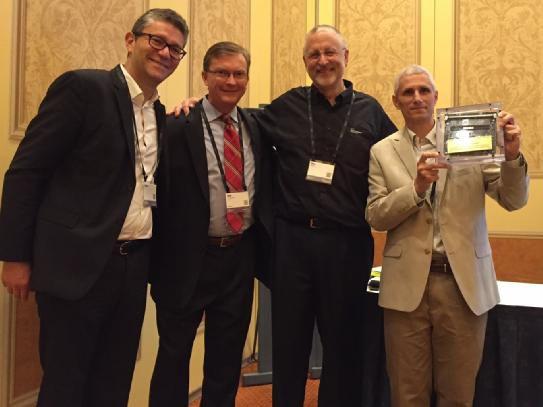 Dom Distefano, Architect at JPMorgan Chase receives award