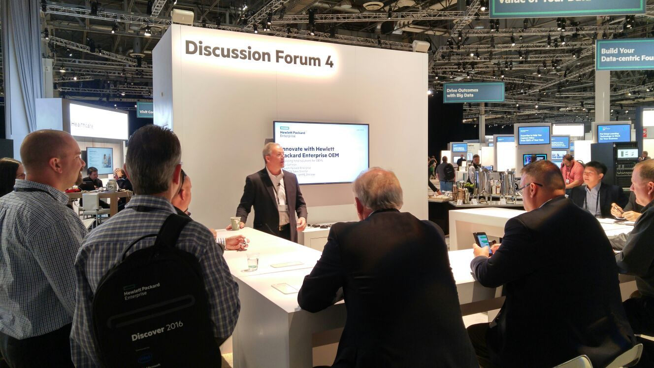 Chief IoT Technologist Lin Nease at HPE Discover Las Vegas