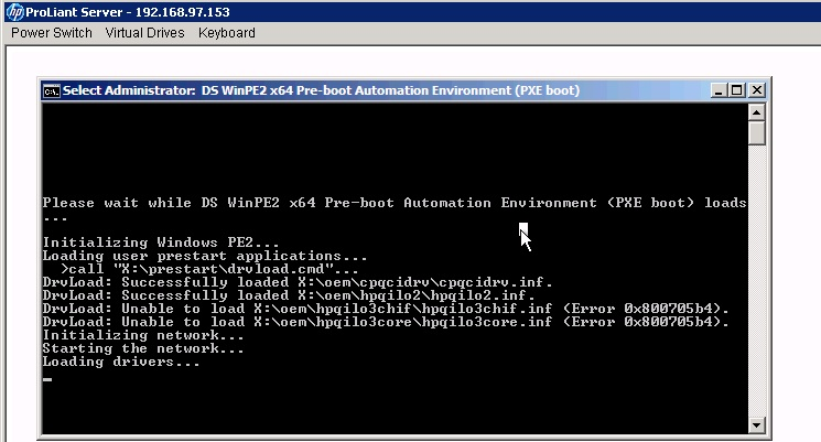 BL460c G7 NC553i slow PXE / TFTP upload - Hewlett Packard