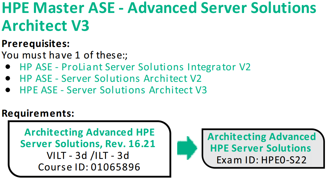 Introducing The New Hpe Master Ase Advanced Server Solutions