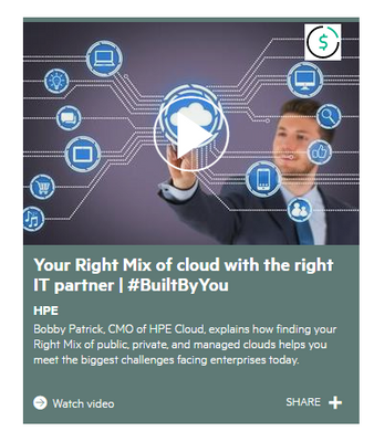 Find the partner that will offer your right mix of cloud