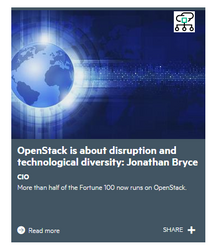 OpenStack is about disruption and diversity.