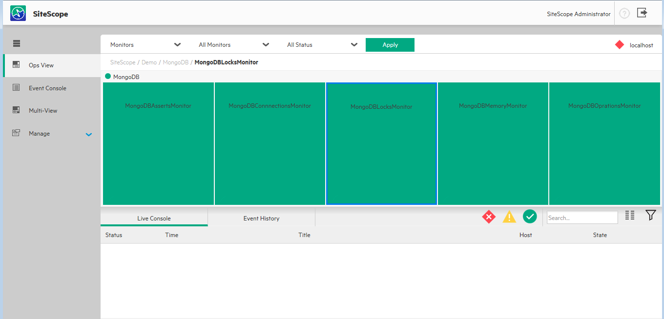 4 steps is all it takes to manage your mongodb wit for Sitescope templates