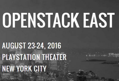 Join us in 2 weeks at OpenStack East NYC where community leaders, users, and customers gather to talk about the latest in OpenStack Cloud.  SVP for HPE Cloud Mark Interrante will be there sharing his insights on what cloud means for the Enterprise.