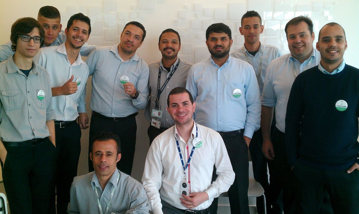 Khalid Mehmood and his HPE Technical support team