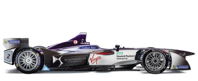 HPE is the Official IT Partner of DS Virgin Racing