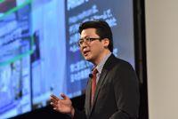 吉見の講演「デジタル・トランスフォーメーションのパートナーとして-HPEのアプローチ」