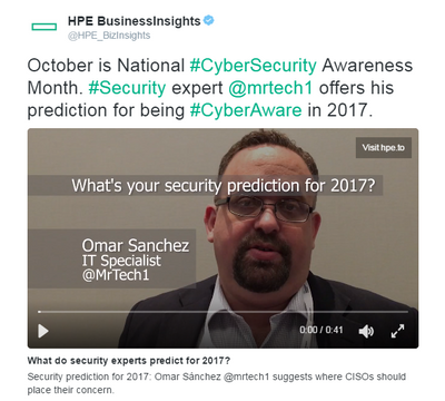 Omar Sánchez's prediction for 2017