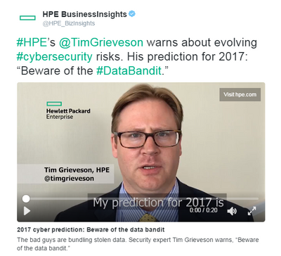 Tim Grieveson's prediction for 2017
