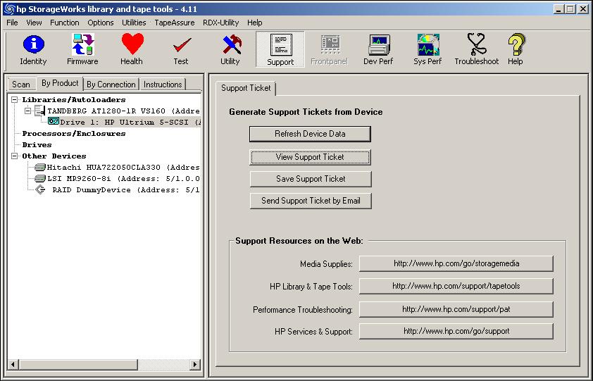 Cannot download Driver Autoloader 1/8 G2 - Hewlett Packard