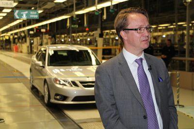 Mattias Bergmann, Präsident von NEVS