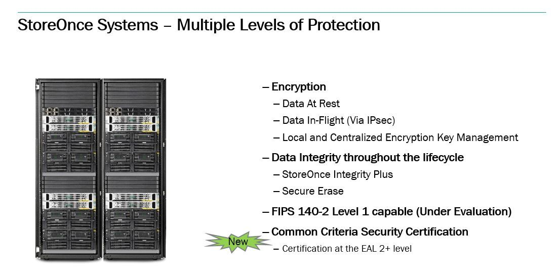 Hpe Storeonce System Achieves Common Criteria Security Certification