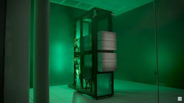 The Machineのプロトタイプ 複数のノードで構成される