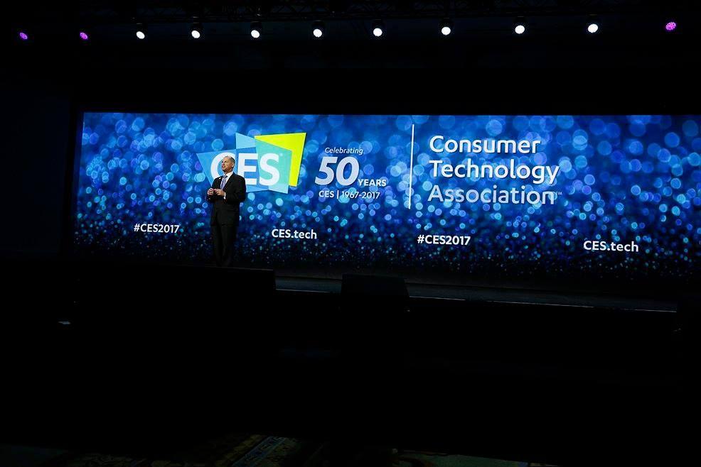 Keynote de Gary Shapiro - Président du CES lors du dernier CES Las Vegas du 5 au 8 janvier 2017