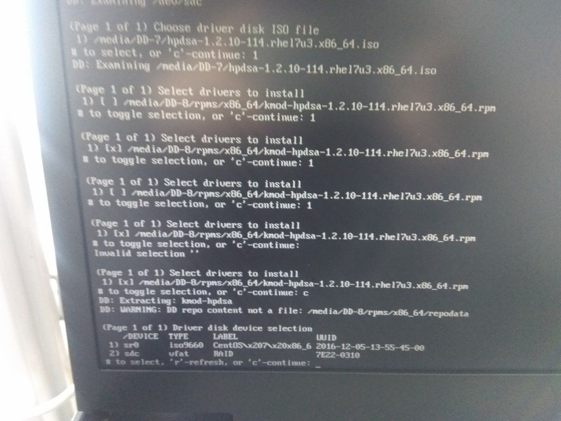 How to install Centos 7 0 with RAID 1 on Proliant     - Hewlett