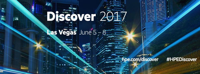 HPE Discover 2017 Las Vegas