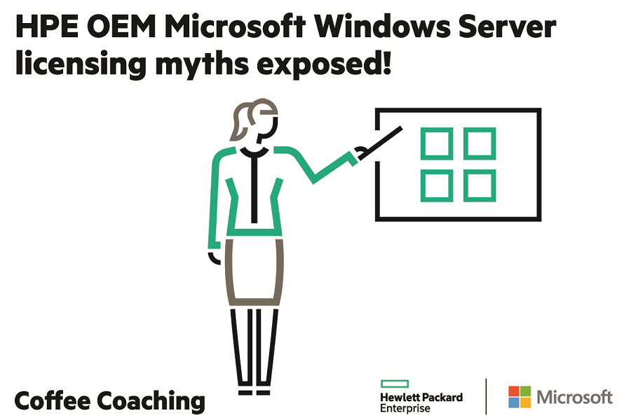 Hpe Oem Microsoft Windows Server Licensing Myths Exposed