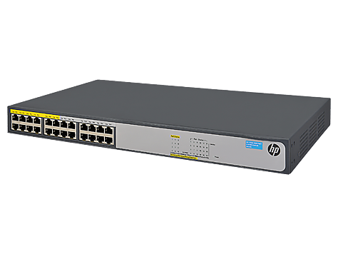 HPE 1420-24G-PoE+ (124W) Switch - switch - 24 ports.png