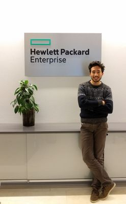 Andrea at the HPE office 2.JPG