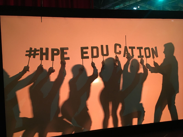 HPE Education at Discover
