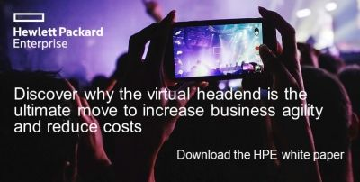 New HPE white paper on headend virtualization based on an IHS Markit research