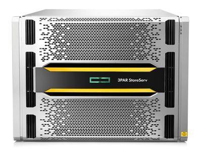 Der neue HPE 3PAR StoreServ 9450 in der Frontansicht