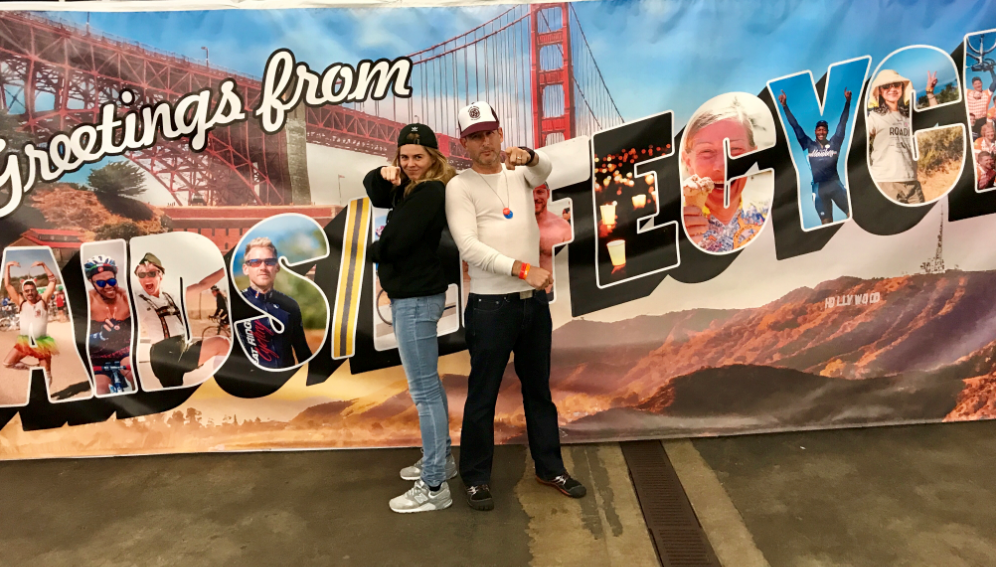 Charlotte's journey started on Saturday the 3rd of June, at the Cow Palace, San Francisco