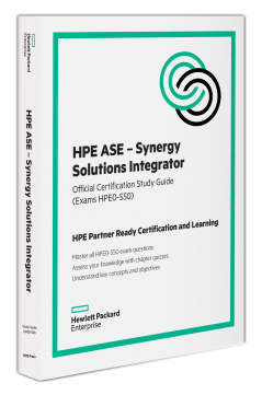 HPE ASE - Synergy Solutions Integrator