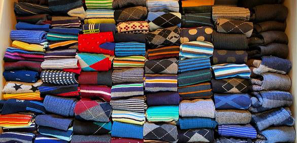 Imagine all the difference you can make with a donation of socks