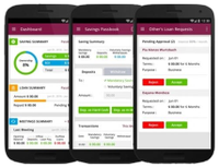 Mobile app to help rural women's saving groups digitally track and manage their money.