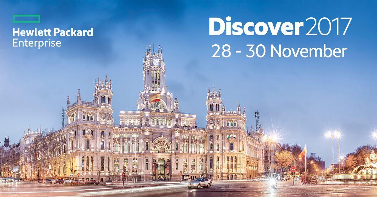 HPE Discover 2017 Madrid, November 28 - 30