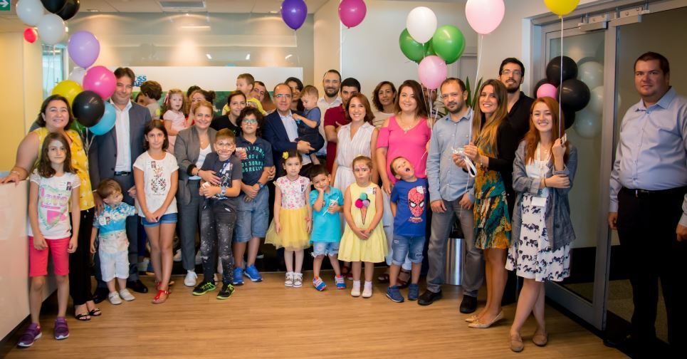 Take Our Children to Work Day 2017 in HPE Turkey - Istanbul offices.
