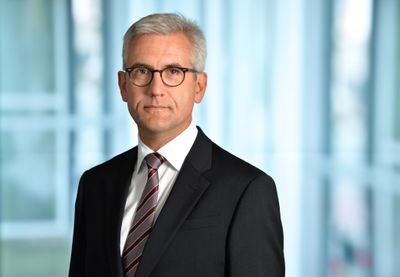 Ulrich Spiesshofer, CEO von ABB. Photo: ABB