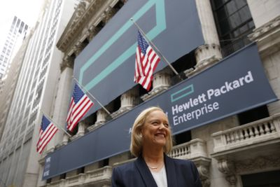 Meg Whitman, CEO von HPE
